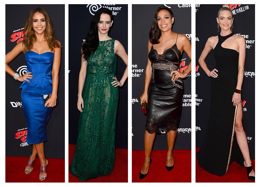 """Jessica Alba, Eva Green + More at """"Sin City: A Dame to Kill For"""" LA Premiere"""