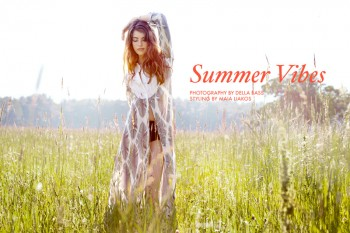 "FGR Exclusive | Brittany Burke by Della Bass in ""Summer Vibes"""