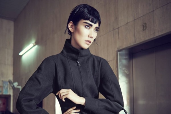 Image: Tao Okamoto in Bergdorf Goodman Fall 2014 Catalogue. Photo by Sofia & Mauro