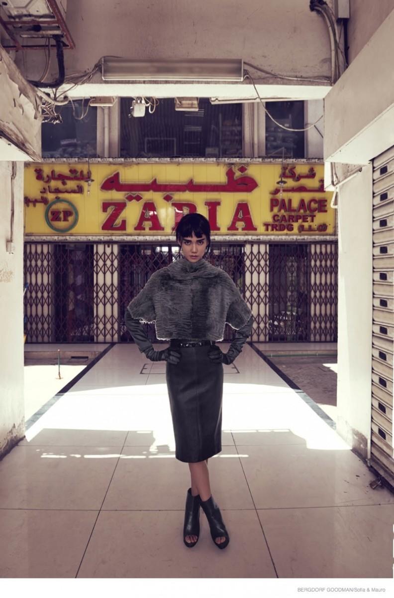 tao okamoto bergdorf goodman shoot13 792x1200 Tao Okamoto Wears Sleek & Modern Style for Bergdorf Goodman's Fall Catalogue