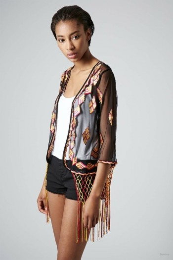 4 Kimono Fringe Cardigans to Wear Anywhere!
