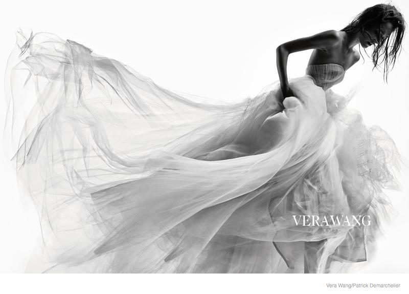 vera wang bridal 2014 fall ad campaign03 Josephine Le Tutour is a Not So Blushing Bride in Vera Wangs Fall 2014 Ad Campaign