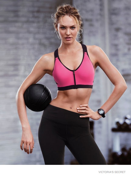 victorias secret sport images 2014 01 Candice Swanepoel + Lily Aldridge Star in Victoria's Secret Sport Catalogue