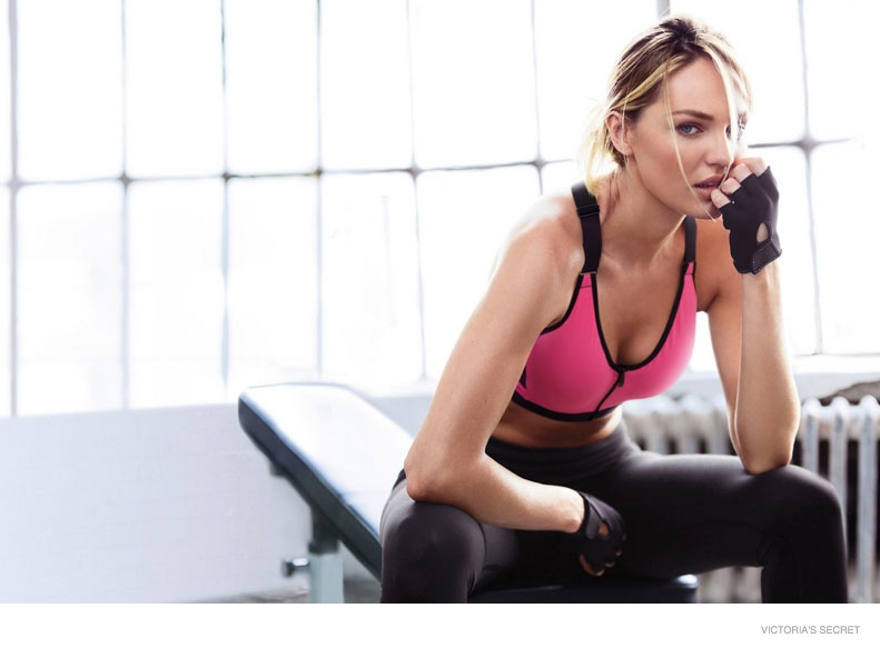 victorias secret sport images 2014 04 Candice Swanepoel + Lily Aldridge Star in Victoria's Secret Sport Catalogue