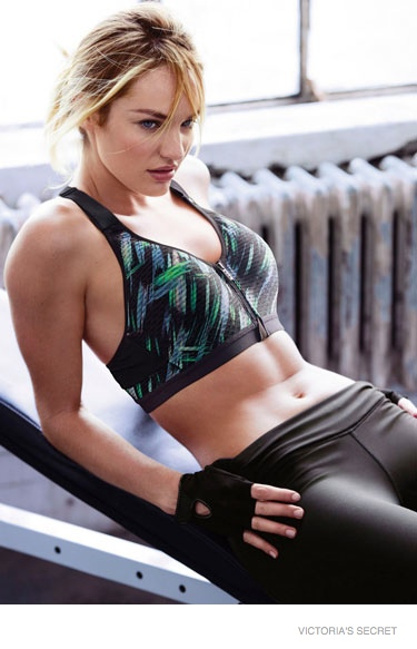 victorias secret sport images 2014 06 Candice Swanepoel + Lily Aldridge Star in Victoria's Secret Sport Catalogue