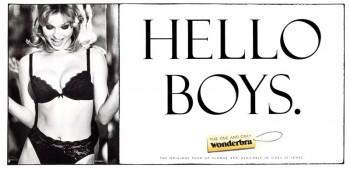 TBT | Eva Herzigova's Iconic Wonderbra Ad – Hello Boys!