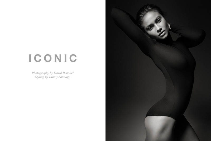 "FGR Exclusive | Yara Khmidan by David Benoliel in ""Iconic"""