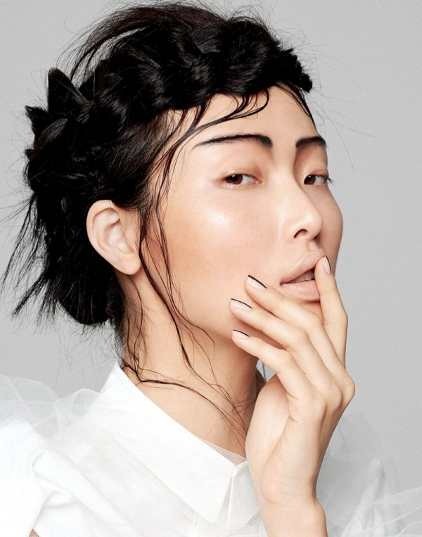 Model Sung Hee by Yu Tsai