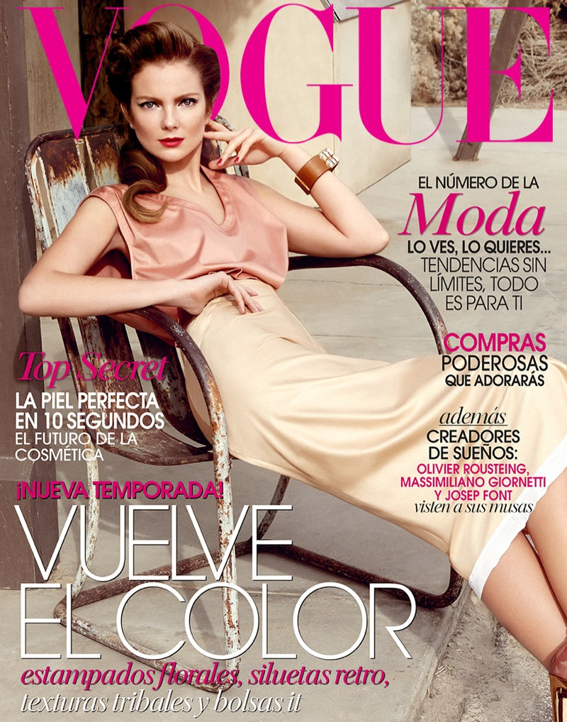 Model Eniko Mihalik by Yu Tsai (Vogue Mexico March 2014 Cover)