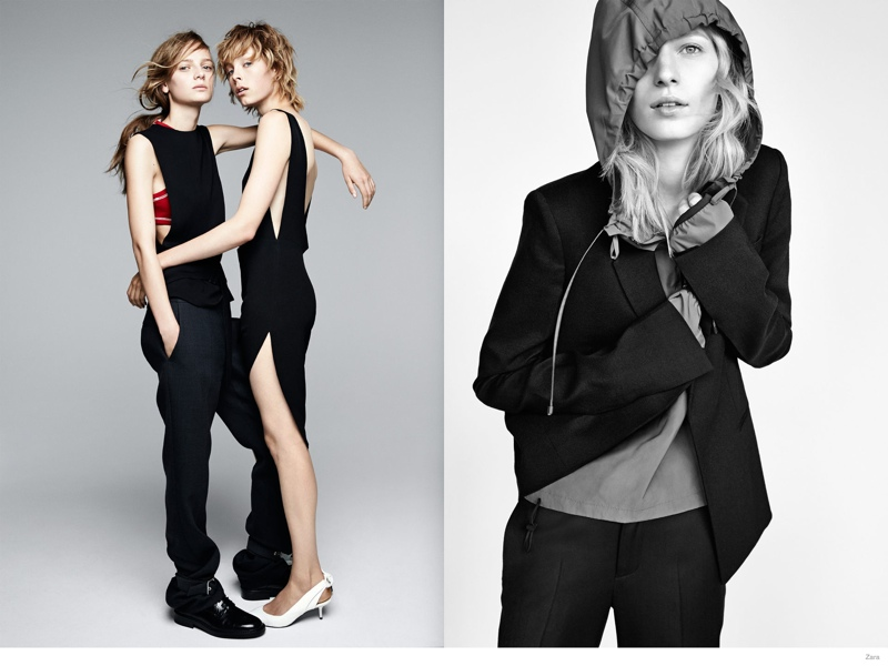 Edie Campbell, Julia Nobis + More Land Zara's Fall 2014 Campaign