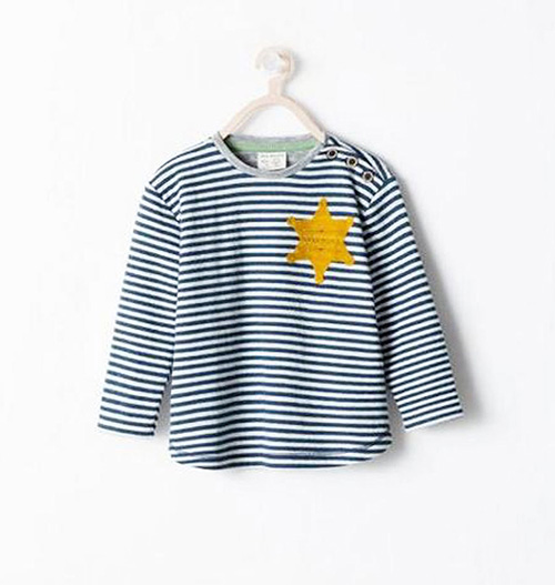 zara-pajama-top-stripes-star