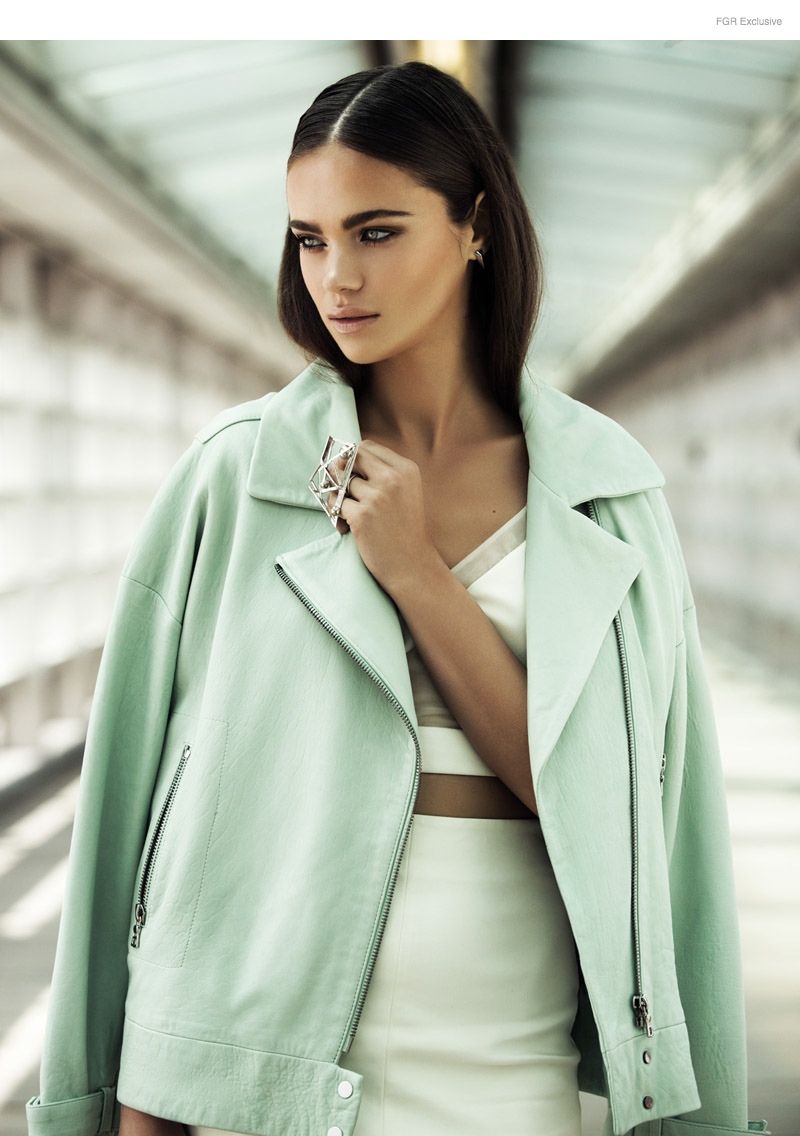 Jena Goldsack Matallana Shoot01 FGR Exclusive | Jena Goldstack by Matallana in Style & the City