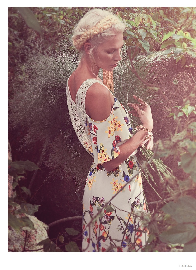 aline weber bohemian style 2014 02 Aline Weber Models Bohemian Style for Florinda Spring 2014 Campaign