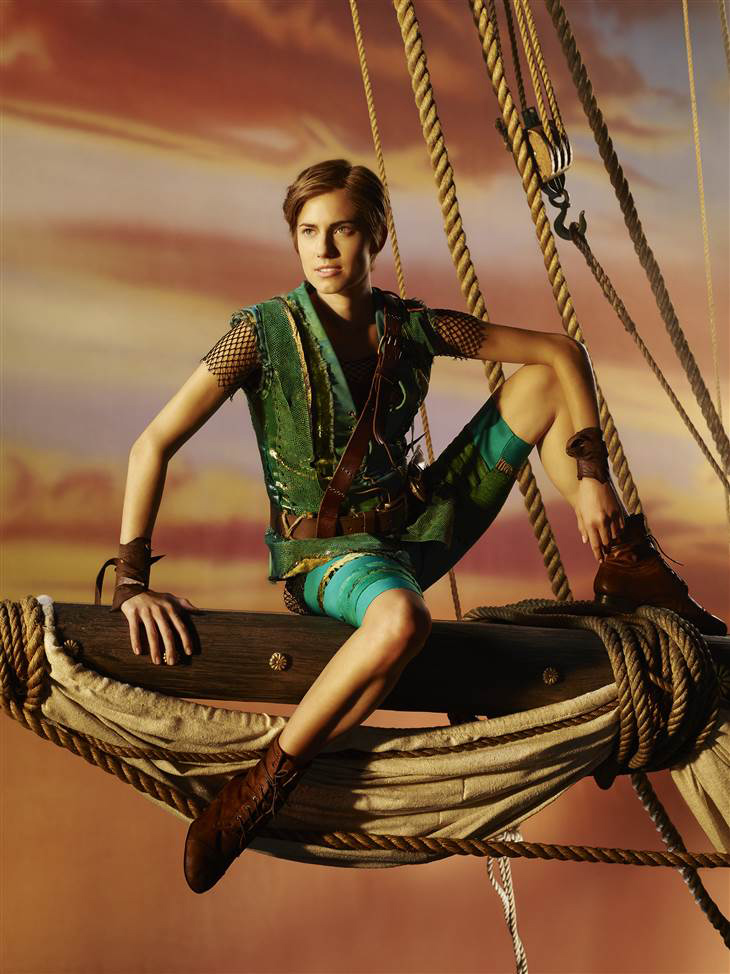 allison williams peter pan costume Allison Williams Dressed as Peter Pan for Upcoming Live Musical