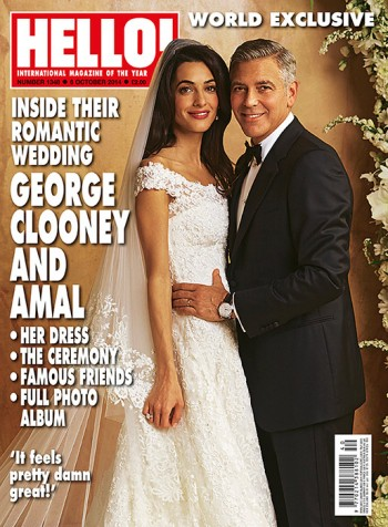 Amal Alamuddin's Oscar de la Renta Wedding Dress Revealed