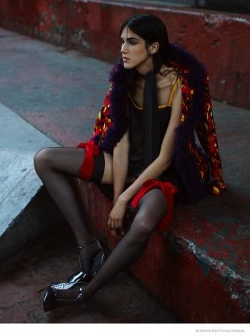 Ana Buljevic Wears Prada's Fall Collection for Wonderland by Thomas Whiteside