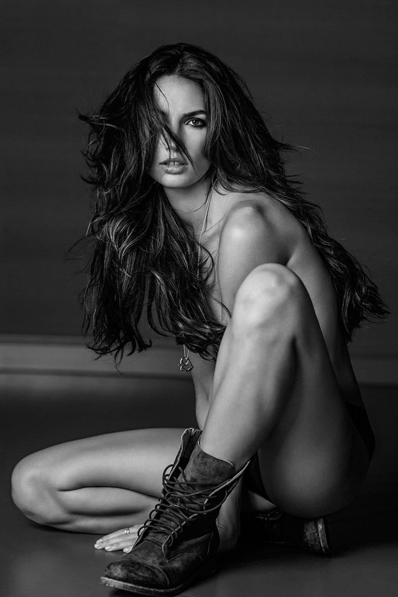 """Lily Aldridge for """"Angels"""" by Russell James"""