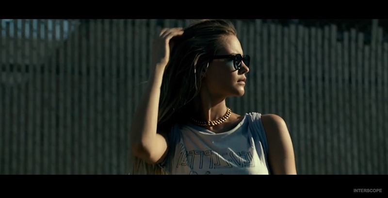 "Behati Prinsloo is Stalked by Adam Levine in ""Animals"" Music Video"