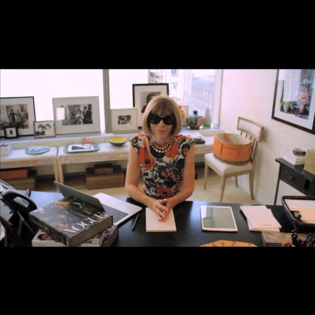 "Anna Wintour Does Not Like Head to Toe Black or the Word ""Journey"""