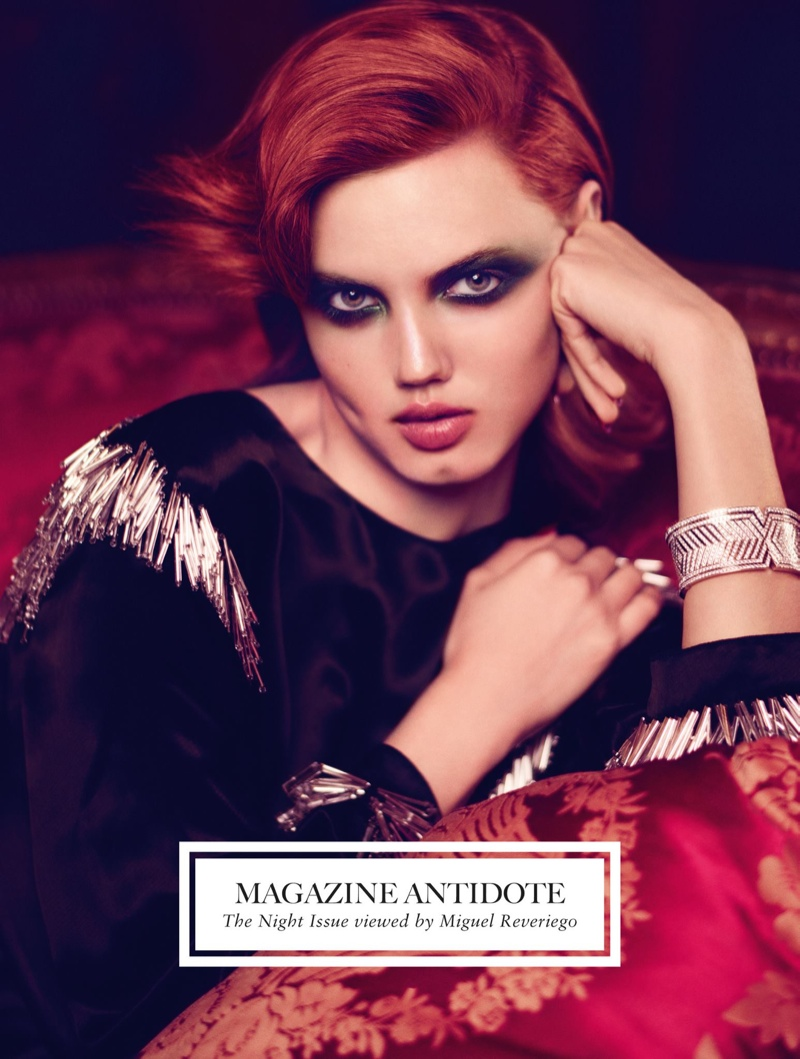 Lindsey Wixson, Jamie Bochert + Guinevere Van Seenus Cover Antidote Fall/Winter 2014