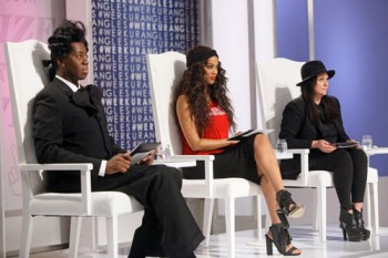 The judges at panel for Episode 3