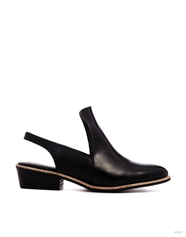 ASOS WHITE WISHFUL Leather Shoes available at ASOS for $123.78