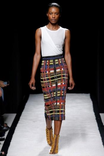 Balmain Spring 2015: A Linear Look