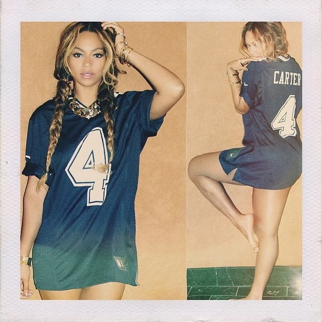 beyonce carter jersey TBT | Birthday Girl Beyonce's Most Stylish Instagrams