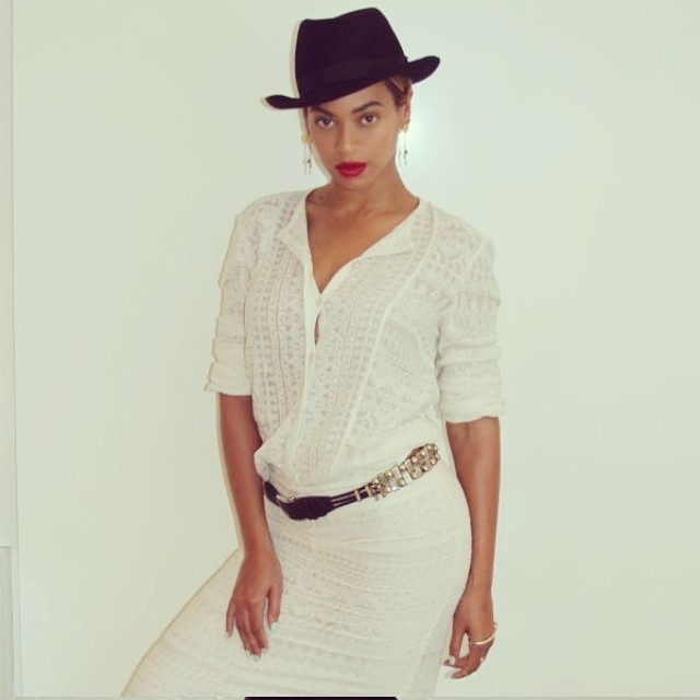 beyonce hat TBT | Birthday Girl Beyonce's Most Stylish Instagrams