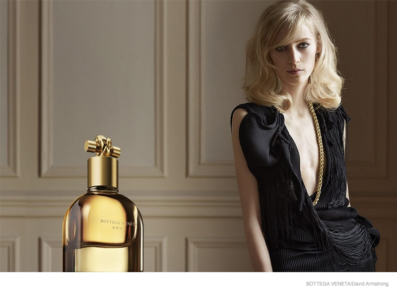 Julia Nobis Stars in Bottega Veneta Knot Fragrance Ad + Film