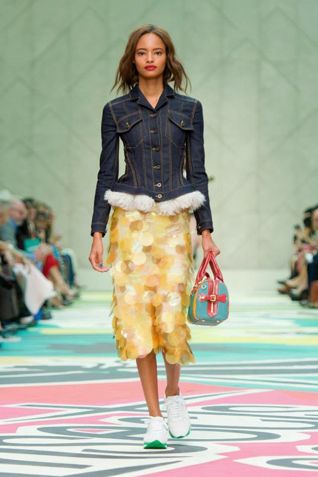 Burberry Takes On Casual Dressing for Spring 2015