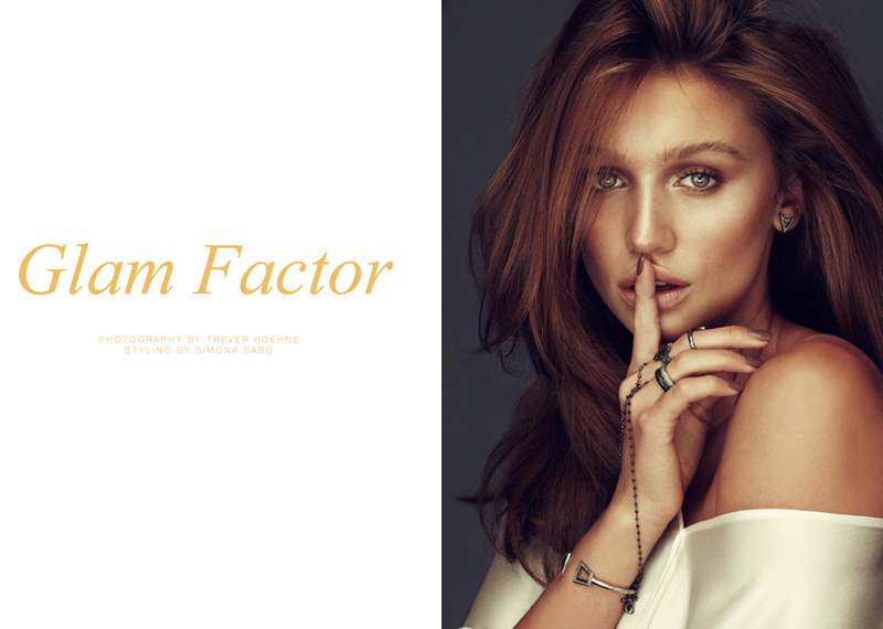 "FGR Exclusive | Cailin Russo by Trever Hoehne in ""Glam Factor"""