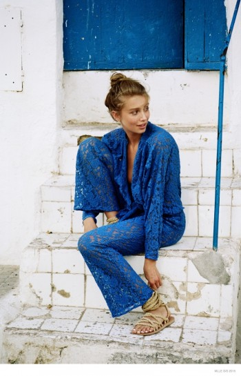 Cailin Russo in Relaxed Styles for Mlle's Spring 2015 Campaign