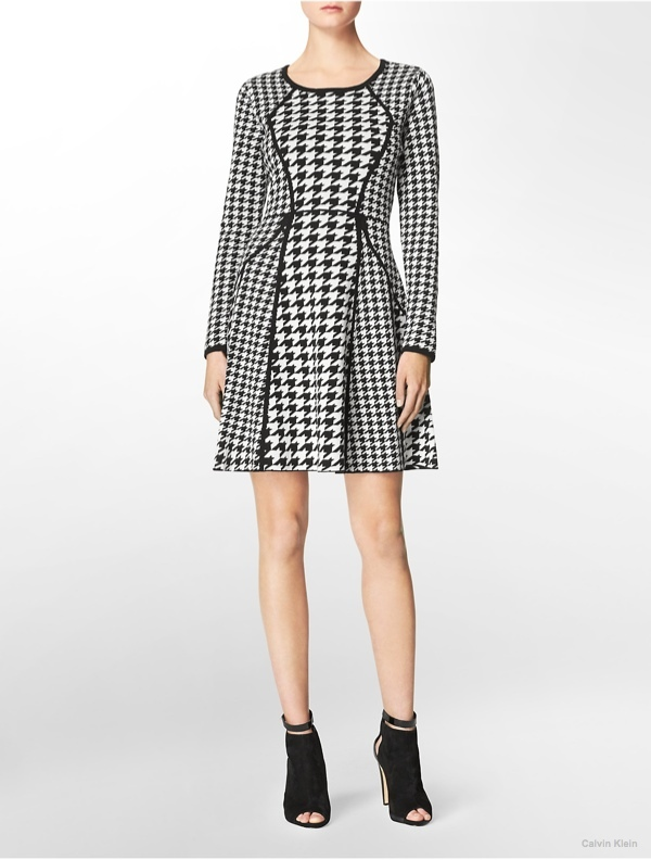 calvin-klein-houndstooth-dress
