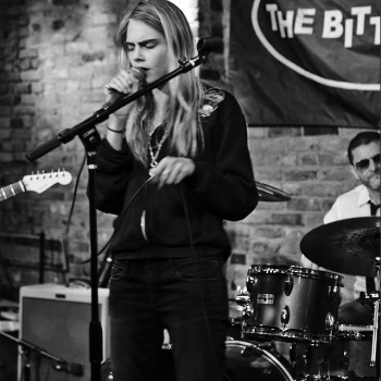 Cara Delevingne Signals Singing Career with Instagram Image
