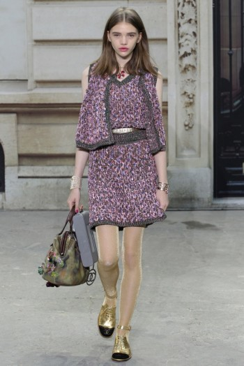 Chanel Makes a Statement for Spring 2015