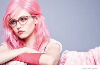 Charlotte Free is the Pink-Haired Star of Chanel's Fall 2014 Eyewear Campaign