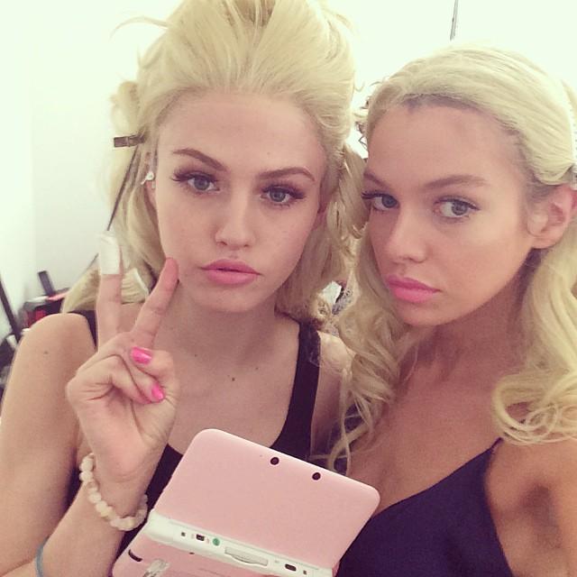 charlotte stella Instagram Photos of the Week   Candice Swanepoel, Lara Stone + More Models