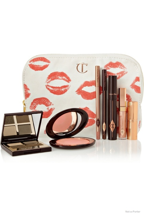 Charlotte Tilbury The Golden Goddess Set available at Net-a-Porter for $225.00