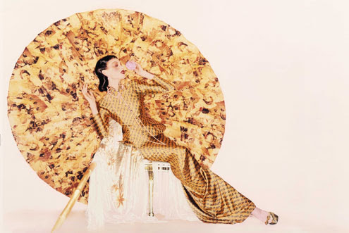 Image caption: John Galliano (British, born Gibraltar, 1960) for House of Dior (French, founded 1947), fall/winter 1997–98. Photograph by Nick Knight, Nick Knight / Trunk Archive