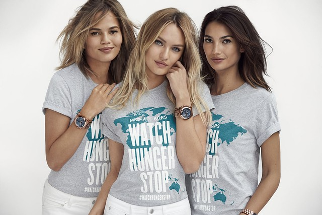 Chrissy, Candice & Lily Unite for Michael Kors' Watch Hunger Stop Image
