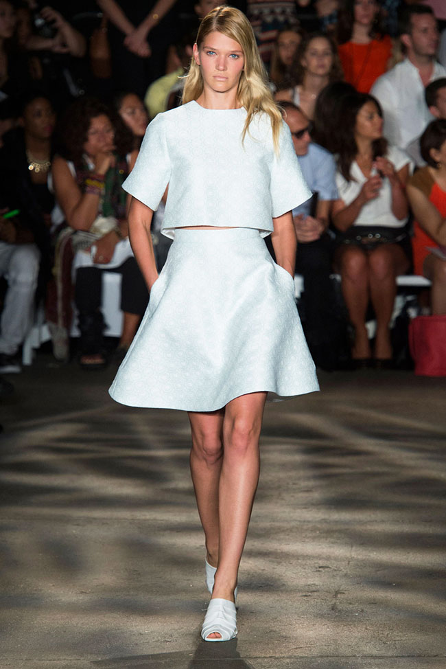 Lacoste Herve Leger Prabal Gurung New York Fashion Week Spring 2015