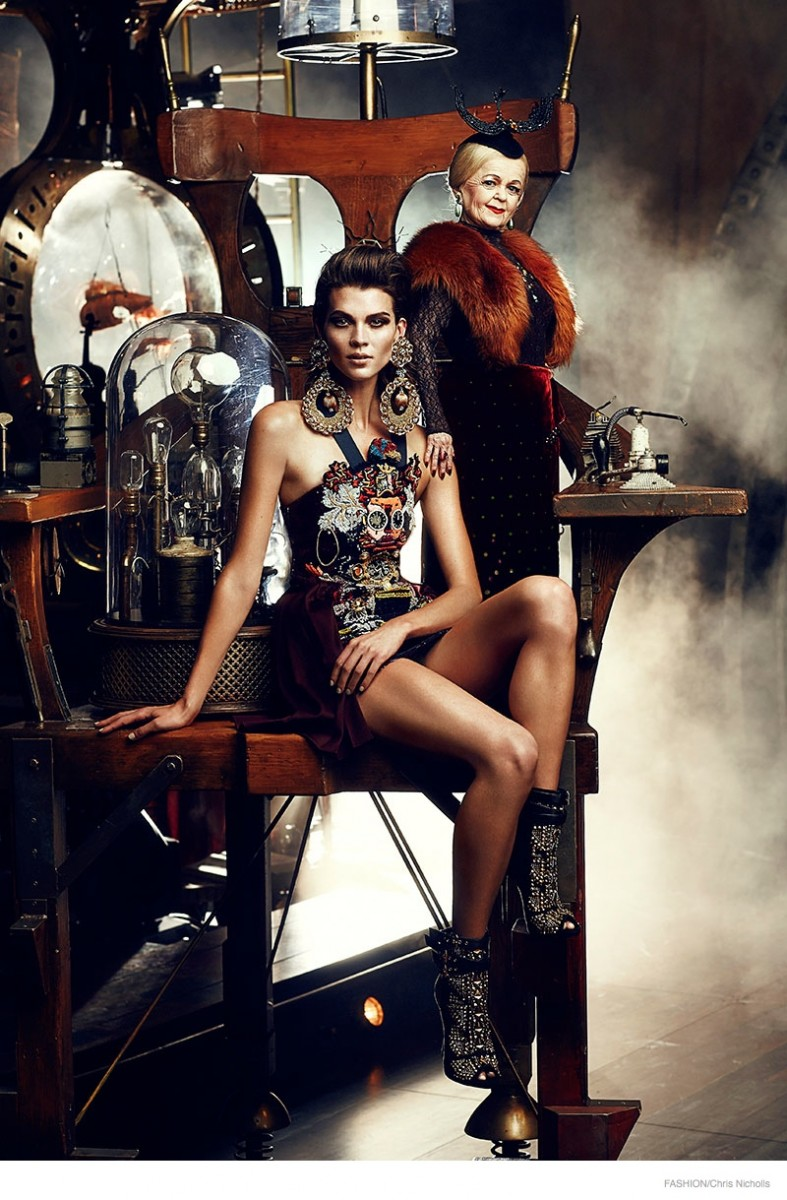 Alexandra Tomlinson Is Circus Chic For Fashion Shoot By