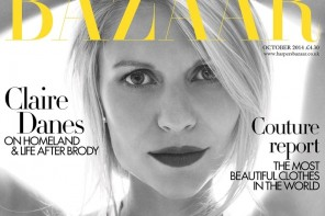 "Claire Danes Covers Harper's Bazaar UK, Talks Her Famous ""Cry Face"""