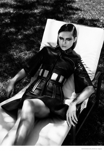 Katy O'Kane Wears David Koma for Interview by Brian Higbee