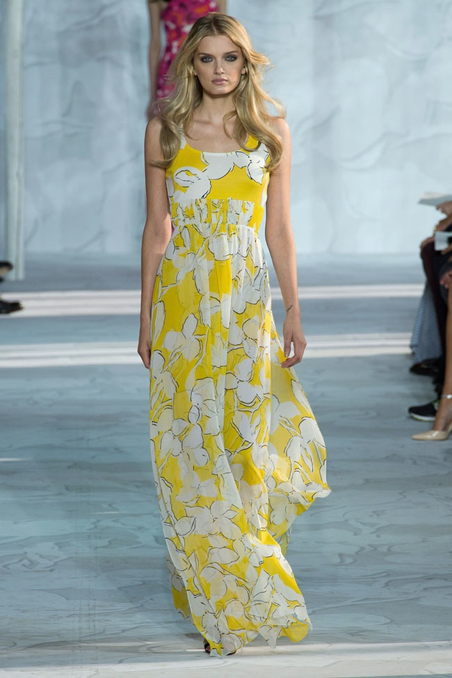 Dvf Spring 2014 Long Maxi Wrap Dress with long maxi skirts and