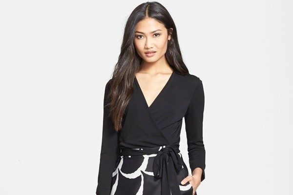 Diane von Furstenberg 'Amelia' Woven Dress available at Nordtrom for $498.00