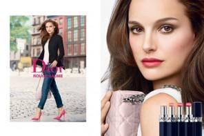 Natalie Portman Stuns in Dior Rouge Baume Lipstick Ad
