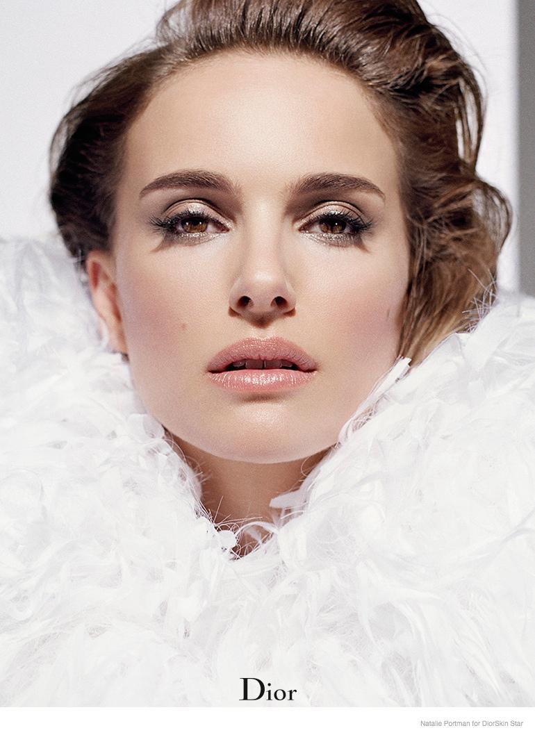 Natalie Portman for Diorskin Star Foundation Ad Campaign 2014