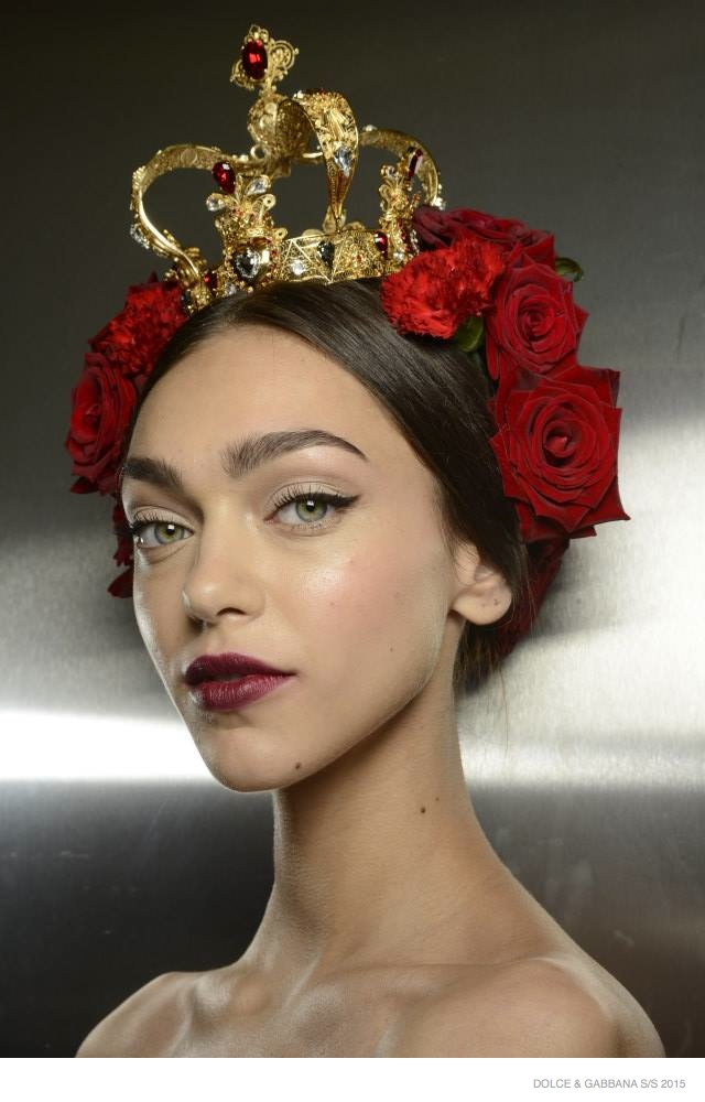 Another Look at Dolce & Gabbana's Spanish-Sicilian Beauty for Spring